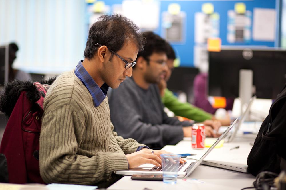 Diptanu Choudhury at Work